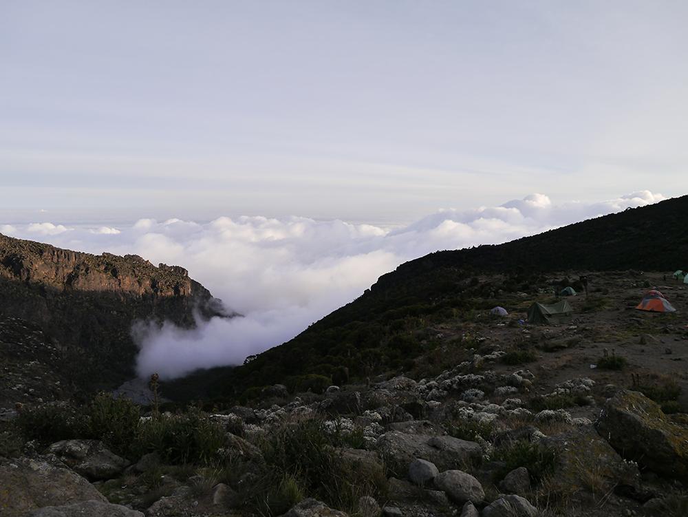 キリマンジャロ登山:4日目〜5日目